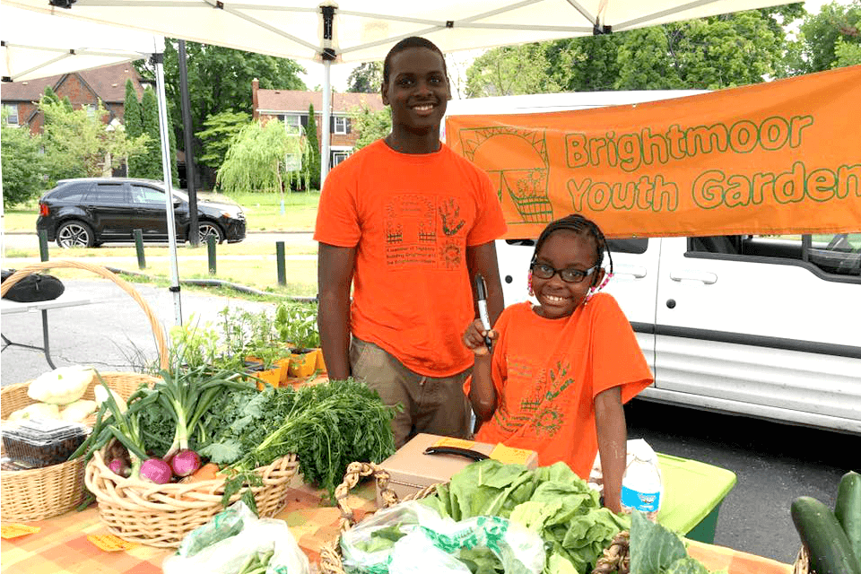 NW Detroit Farmers' Market Opening Day