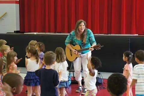 Libraries Rock With The Music Lady