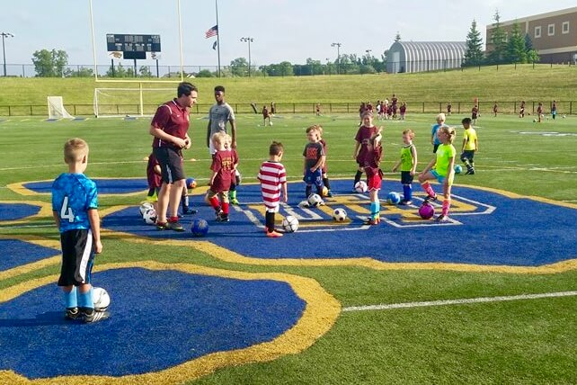 Detroit City FC Youth Clinic
