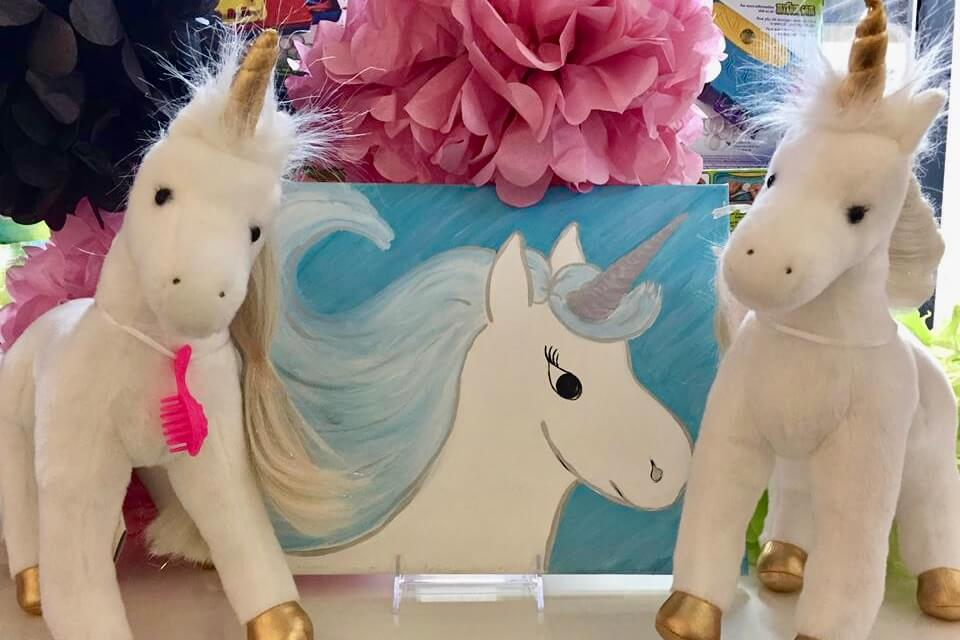 Sparkle Unicorn Painting Party
