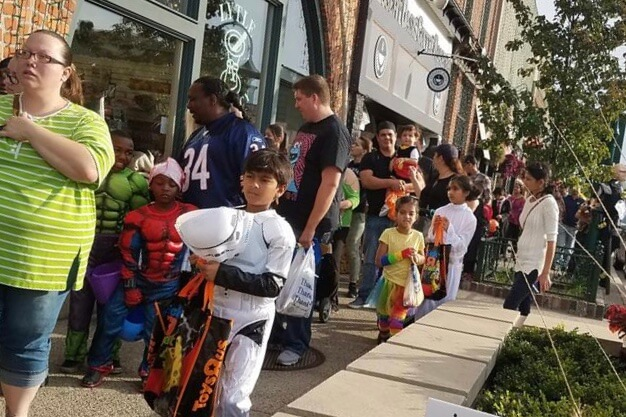 Trick Or Treat Downtown And Halloween Movies