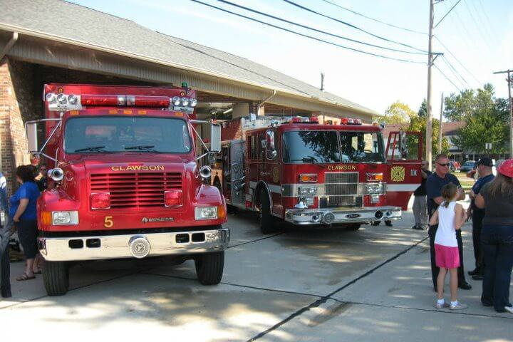 Clawson Fire Department Open House