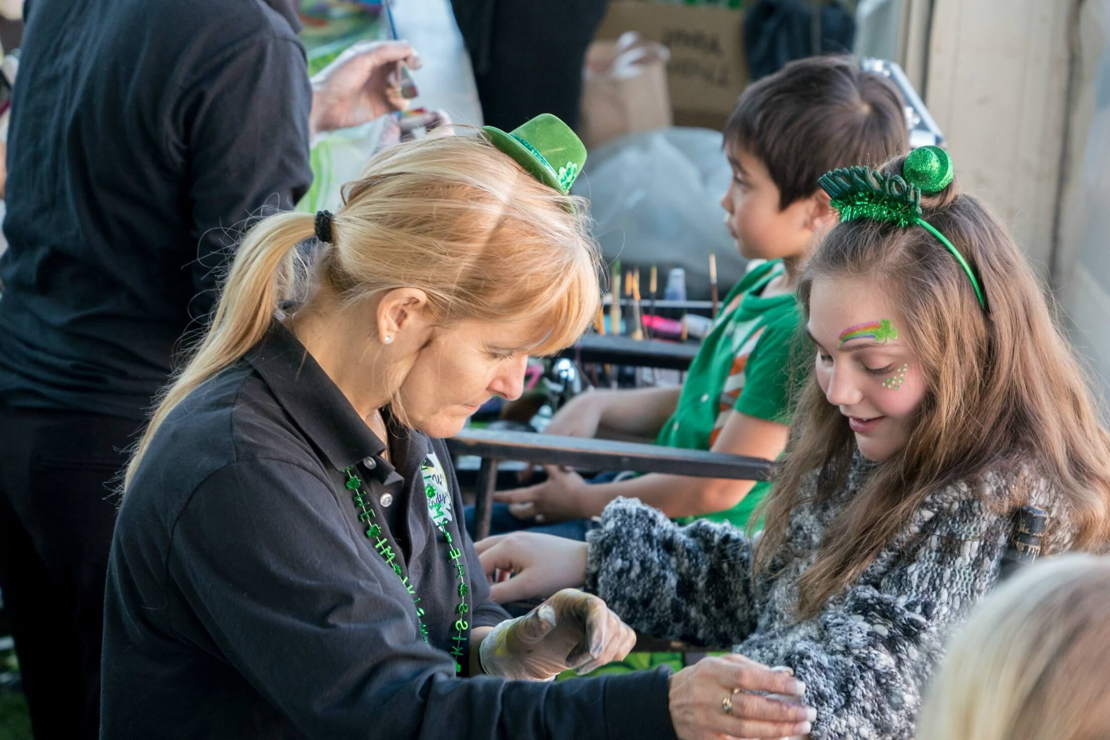 St. Patrick's Day Family Fun Party