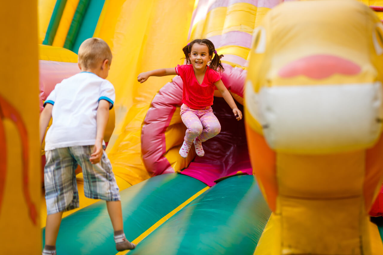 GIVEAWAY: Bounce House Party With Five Little Monkeys