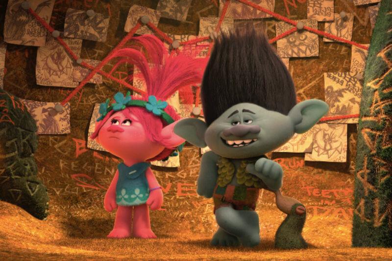 Family Movie Night-Trolls