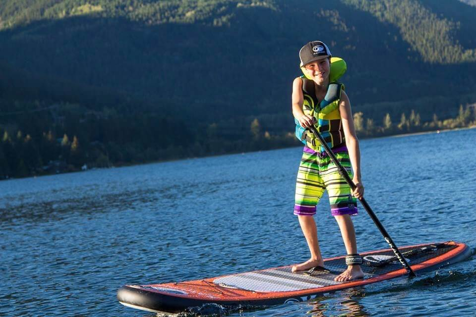 Stand-Up Paddleboard Class For Kids